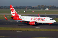 Air Berlin Boeing 737-700 Stock Photography