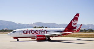 Air Berlin, Boeing 737 - 800 Royalty Free Stock Photo