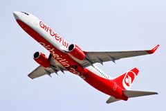 Air Berlin Boeing 737 Royalty Free Stock Image