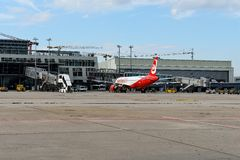 Air Berlin Hebluje Obraz Royalty Free