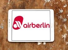 Air Berlin logo Zdjęcie Stock
