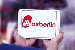 Air Berlin logo Fotografia Stock