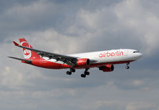 Air Berlin passenger jet Royalty Free Stock Photo