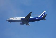 Air bleu Boeing 737 photo libre de droits