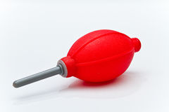 Air blower for clean lens Stock Image