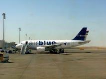 Air Blue Aircraft Stock Photo