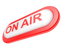 ON AIR board warning message Royalty Free Stock Images