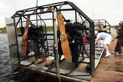 Air boat Royalty Free Stock Photo