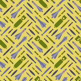 Air bobms seamless pattern Stock Photo