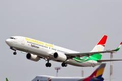 Air Boeing 737 de Somon Image libre de droits