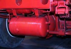 Air Brake Cylinder. stock image