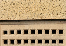 Air brick on building Stock Photography
