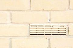 Air brick on exterior wall Stock Photo