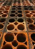 Air-briques Photos stock