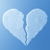 Air Broken Heart. On day Stock Image