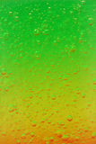Air bubbles frozen in colorful jelly Royalty Free Stock Images