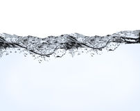 Air bubbles in water Stock Images
