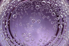 Air bubbles in water Stock Image