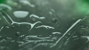 Air bubbles In the water stock footage