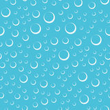 Air bubbles in water seamless pattern. Abstract air bubbles underwater seamless pattern. EPS8 vector illustration royalty free illustration