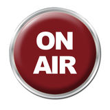 On Air Button Stock Photo