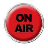 On Air Button Stock Photography