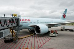 Air Canada Royalty Free Stock Photo
