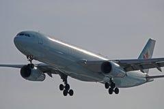 Air Canada Aerobus A330-300 zakończenie W górę obrazy stock