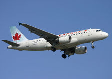 Air Canada Airbus A319 Stockfotos