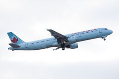 Air Canada Airbus A321 Stock Image