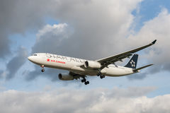 Air Canada Airbus A321 Foto de Stock Royalty Free