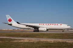Air Canada Airbus A330 Aircraft Stock Images