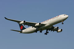 Air Canada Airbus A340 Royalty Free Stock Photos