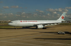 Air Canada Airbus, Heathrow Imagem de Stock