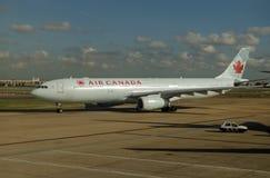 Air Canada airbus, Heathrow stock image
