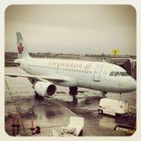 Air Canada aplana Imagem de Stock