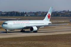 Air Canada Boeing Royaltyfri Fotografi