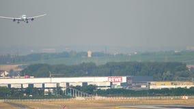 Air Canada Boeing 787 s'approchant banque de vidéos