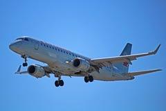Air Canada Embraer ERJ-190AR C-FHNV imagem de stock royalty free