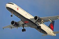 Air Canada flygbuss A321-200 C-GJWD Arkivfoton