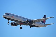 Air Canada flygbuss A321-200 C-GJWN Arkivfoto