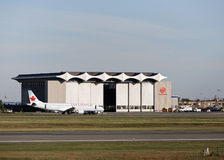 Air Canada Hanger Stock Images