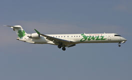 Air Canada Jazz CRJ-705 Airplane Stock Photography