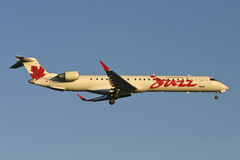 Air Canada Jazz CRJ-705 Plane Royalty Free Stock Photography