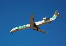 Air Canada Jazz - Green Royalty Free Stock Image