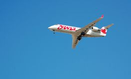 Air Canada Jazz - Red Stock Photography