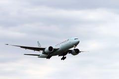Air Canada jet landing Stock Image