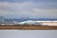 Air Canada Jet Taking Off Photos stock