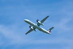 Air Canada lądowania Ekspresowy samolot Zdjęcie Royalty Free