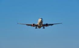 Air Canada lądowania samolot Zdjęcia Royalty Free